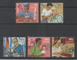 Singapore, Used, Vanishing Trades - Singapour (1959-...)