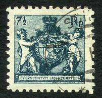 7 1/2 Rp Grobe Zähnung, Sehr Sauber U. Gestempelt ESCHEN.., Marke U. Stempel Sind Echt, Einwandfrei Erhalten, Attest Hof - Used Stamps