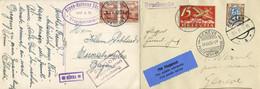 Starker Posten 105 Liechtensteinbelege Sauber Erhalten, Dabei Z.B. FDCs Nr. 226 U.  231, Ganzsachen, Flug- U. Zeppelinbe - Collections
