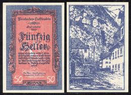 NOTGELD 1920: Engroslot 80x 50 Heller LBK Nr. 3 (Hotel Löwen Mit Schloss Vaduz)  30.-, LBK 2400.-1920 (80)0 - Collections