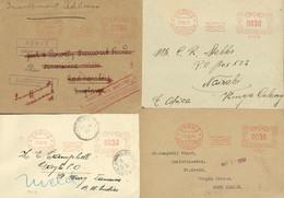 FREISTEMPEL-Belege NACH SELTENEN DESTINATIONEN: 1931 Nach Nairobi, Kenya (Vorderseite), 1932 Nach Jamaica, 1933 Nach Vir - Collections