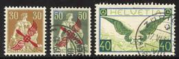 Posten Flugpostmarken Gestempelt/*/** Ab Nr. 1, Meist Gut Erhalten, SBK N.A.ca. 15'500.-1919-0 - Unused Stamps