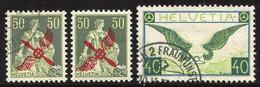 Teilbestand In Steckbuch, Je Sauber Gestempelt (SBK 6800.-), ** (1110.-) Und * (560.-) Geführt, Ab Nr. 2 Bis 1949,  Tota - Unused Stamps
