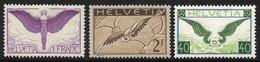 Album Mit Flugpostmarken Ab 1923, überwiegend **, Dann Auch Gestempelte Ausgaben Und Etliche Belege Enthalten, Hoher Kat - Unused Stamps