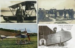 Kl. Lot 14 Flugkarten Mit 10 Ab Der Frühzeit, Dabei Auch H. Pillichody, Flugplatzdirektor Der Alpar In Bern, Usw., 4 Neu - Other Documents