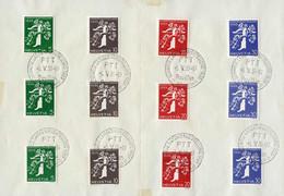 Teil-Sammlung 29 FDCs Frei- U. Werbemarken Ab 1919 Sauber Erhalten, Dabei Gute Serien, U.a. Landi 1939 Armbrust 228-39 A - FDC