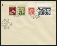 Teil-Sammlung 13 FDCs Pro Juventute, Mit 1924, 1927, 1937 Block, Usw., Alle In Guter Erhaltung, SBK 4065.-1924/60 (13)0 - FDC