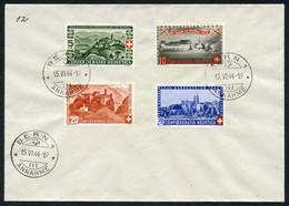 Teil-Sammlung 16 Saubere FDCs Pro Patria, Mit Den Besseren Serien 1940, 1944-50, Etc., In Guter Erhaltung, SBK 4670.-194 - FDC