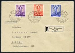 Teilsammlung 10 Saubere FDCs Blocks, Blockausschnitte U. WIII, Dabei Pro Patria 1936, Seltener Beleg Mit 20Rp Aus Aaraue - FDC
