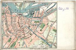 Amsterdam - Map - Amsterdam
