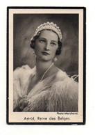 Image Religieuse Souvenez-vous Astrid, Reine Des Belges Photo Marchand- Format : 10x6.5 Cm - Images Religieuses