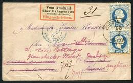 Interessantes Lot 124 Belege, Bedarfs Und Sammlerpost, Dabei Ganzsachen, 1 Beleg Rohrpost, Inflation Deutschösterreich,  - Colecciones