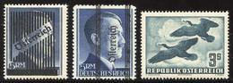 Sammlung Postfrisch In 2 SAFE-Vordruckalben, Mit Wiener- Und Grazer-Aufdruck, Den Normalmarken 1945-90, Sowie Den Renner - Colecciones