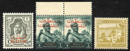 Sammlung Modern, Wohl Aus Abo, Mit Seltenem Arafat-Heftchen;  Diverse Inoffizielle Ausgaben, Ausgaben Der Mandatsverwalt - Palästina