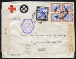 AFRIKA: Partie Von 77 Belegen Ägypten (22) Mit U.a. Halbierung Einer Portomarke, Befund Holcombe; Sudan (8), Ansichtskar - Africa (Other)