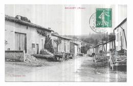 Belrupt Près De Bar Le Duc Rue Principale Vue Intérieure J. Debergue, éditeur - Bar Le Duc