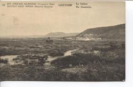 1192PR/  CP-PK Belgisch Congo Belge Surcharge E.A.A.O.B.- D.O.A.B.B.  Vue 31 MINT - Enteros Postales
