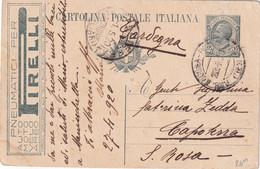 ITALIE  1920   ENTIER POSTAL/GANZSACHE/POSTAL STATIONARY  CARTE PUBLICITAIRE DE ANCONA - Stamped Stationery
