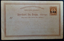 1042 NORWAY NORGE NORUEGA - Postal Stationery