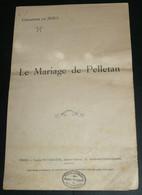 """Rare Ancienne Chanson Avec Paroles, """"Le Mariage De Pelletan"""", Jihel - Scores & Partitions"""