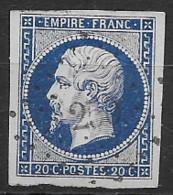 TP14,obl.,PC250,Bar Sur Seine(AUBE),ind.3 - 1849-1876: Periodo Clásico