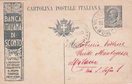 ITALIE  1922   ENTIER POSTAL/GANZSACHE/POSTAL STATIONARY  CARTE PUBLICITAIRE DE VILLA VERUCCHIO - Stamped Stationery