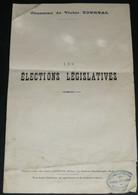 """Rare Ancienne Chanson Avec Paroles, """"Les Elections Législatives"""", Victor Tourtal - Scores & Partitions"""