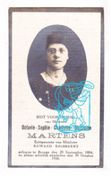 DP Foto - Octavie Sophie Martens ° Brugge 1884 † 1926 X Edward Smissaert - Images Religieuses