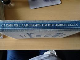 """Buch"""" Kampf Um Die Dardanellen Von Clemens Laar"""" 1936 - Ohne Zuordnung"""