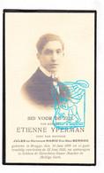 DP Foto - Etienne Yperman / Van Den Berghe 24j. ° Brugge 1899 † 1923 - Images Religieuses