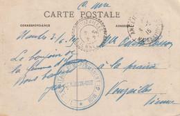 WW1 Train Sanitaire Semi Permanent 12 MIDI Le Medecin Chef Pour VOUZAILLES (Vienne) 3/06/15 - WW I