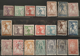 YOUGOSLAVIE - 1919 N° 63/84 O / * / (*) (voir Scan) - Non Classificati
