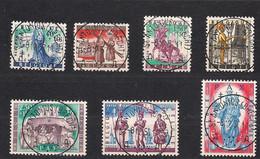 Belgie Belgique 1958 OCBn° 1082-1088 (°) Oblitéré Used Cote 9,00 Euro Folklore II - Gebruikt