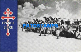 160243 FRANCE THE FREE FRENCH FORCES IN AFRICA MILITARY SOLDIER POSTAL POSTCARD - Non Classificati