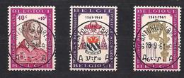 Belgie Belgique 1961 OCBn° 1188-1190 (°) Oblitéré Used Cote 2,25 € - Gebruikt