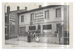 Romagne Sous Montfaucon L' Hotel SIMON (Café-Restaurant Du Commerce) Verdun Editions - Altri Comuni
