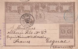 ITALIE  1895 ENTIER POSTAL/GANZSACHE/POSTAL STATIONARY  CARTE DE ROMA - Stamped Stationery