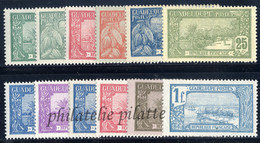 -Guadeloupe  77/88** - Unused Stamps