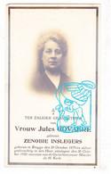DP Foto - Zenobie Inslegers ° Brugge 1879 † 1928 X Jules Govaere / Spijsschaert Staelman Godyn Bauwens Staguet Angillis - Images Religieuses