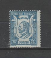 FRANCE / 1924 / Y&T N° 209 ** : Pierre De Ronsard X 1 - Ungebraucht