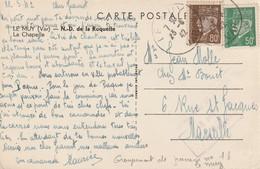 Chantier De Jeunesse N°16 Le Muy (VAR) Pour Marseille - WW II