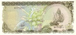 MALDIVES SET IN ORIGINAL FOLDER UNC (7 Notes) - Maldives