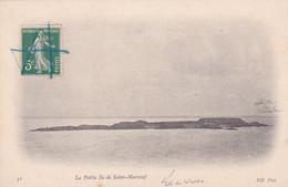 50, La Petite île De Saint-Marcouf, Vue Depuis De La Mer, Annotée Côte Du Calvados, Côte De La Manche, 1911 - Altri Comuni