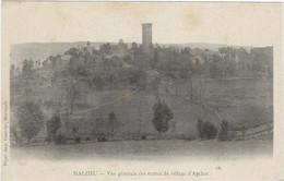 48  Malzieu  - Vue Generale Des Ruines Du Village  D'apcher - Otros Municipios