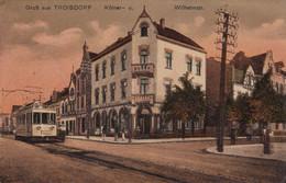 (186)  CPA  Troisdorf  Wilhelmstr  (Bon état) - Troisdorf