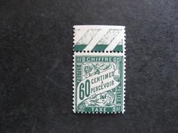 A). TB Taxe N°38, Neuf XX . - 1859-1955 Mint/hinged