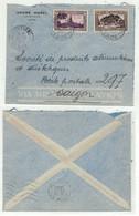 Laos // Royaume Du Laos // Lettre De Vientiane Pour Saigon 22/11/1952 - Laos