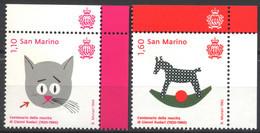 San Marino, 2020, 100º Anniversario Della Nascita Di Gianni Rodari, Serie Completa MNH** - Nuevos