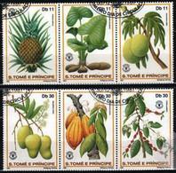 St. Tomé & Príncipe 1981 Mi 744-749 World Food Day - CTO - Sao Tome Et Principe