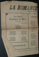 """Rare Recueil De Chansons Avec Paroles, """"La Romance Parisienne"""", Illustré - Scores & Partitions"""